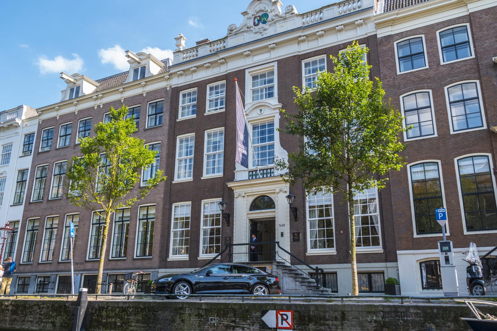 Exclusive Waldorf Astoria Hotel in Amsterdam - AMSTERDAM - THE NETHERLANDS 2017