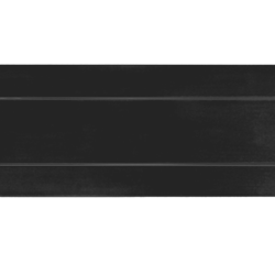 briefplaat met veer zwart